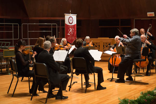 The Faculty Artist Concert Series features performances in a variety of genres.