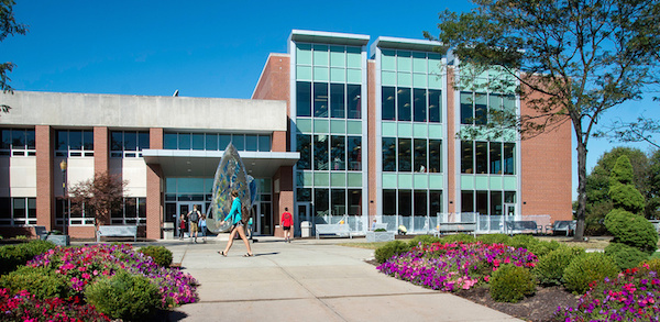 The renovated Krannert Memorial Library is a state-of-the-art academic hub.