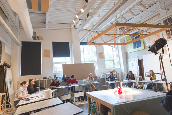 The department of art design utilizes several studios and labs to foster each major and concentration in the art and design program