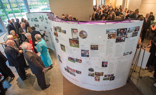 UIndy launched a comprehensive campaign with a gala event on Oct. 2.