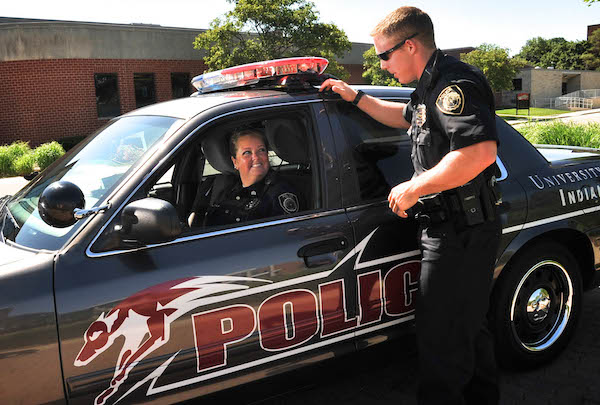 The UIndy Police Department includes full-time officers, all certified by the Indiana Law Enforcement Academy, and student cadets for special events, building security, foot patrol and escorts.