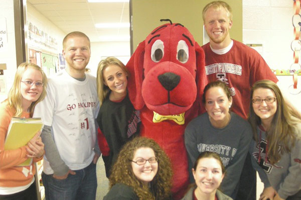 UIndy partners with several local school districts to provide students with hands-on experiences.