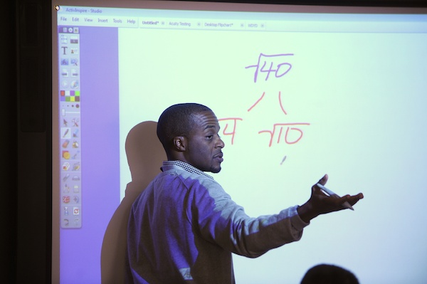 The Woodrow Wilson fellowship prepares those with degrees in math and science for teaching careers.